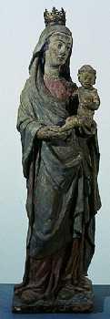 Madonna con Bambino, XIV secolo
