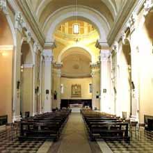 San Medardo, navata